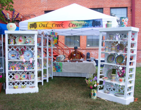Creative Craft Show Displays